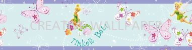 90-046 Tinkerbell Pixie Dust G & B - Kids @ Home - 2017 Germany Wallpaper - Size: 53cm x 10m