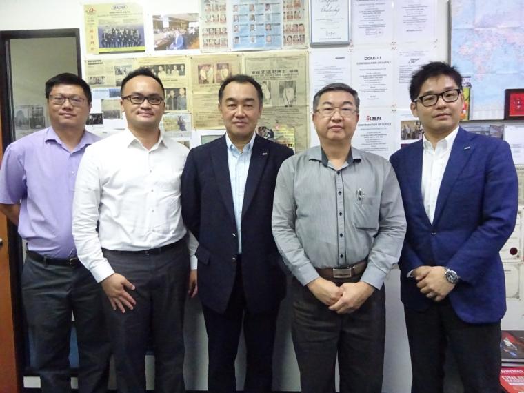 Mr. Yasunori Araki and Mr. Akihiko Sato (Japan Sun Oil Company [SUNOCO] Visit On 15-08-2018