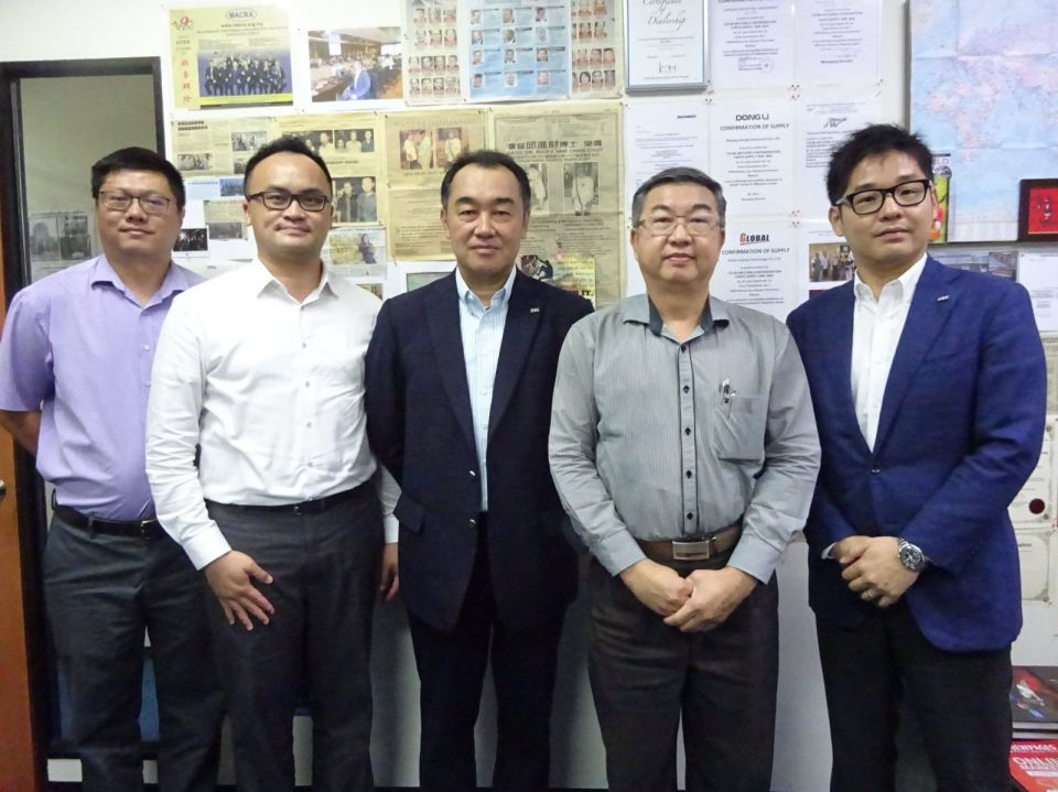 Mr. Yasunori Araki and Mr. Akihiko Sato (Japan Sun Oil Company [SUNOCO] Visit On 15-08-2018