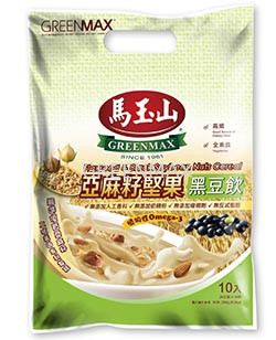 Flaxseed & Black Soybean Nuts Cereal (12pkts) / 亞麻籽堅果黑豆飲 (12入)