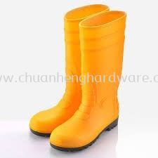 Yellow Safety Boot