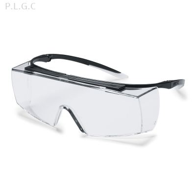 UVEX super F OTG clear safety glasses 9169585