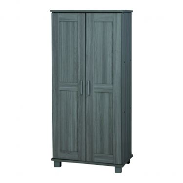 2 DOORS HIGH SHOE0 CABINET (SC SU224-GL)