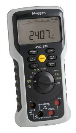 Megger AVO830 Handheld Digital Multimeter  Digital Multimeter  Megger
