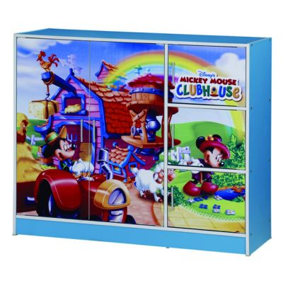 MICKEY MOUSE 2 DOORS CHILDREN WARDROBE