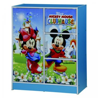 MICKEY MOUSE 1 DOOR CHILDREN WARDROBE (WD SU331-BLA)