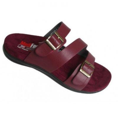 MO119-5 Red Medifeet Orthotic Sandals Women (RM219)