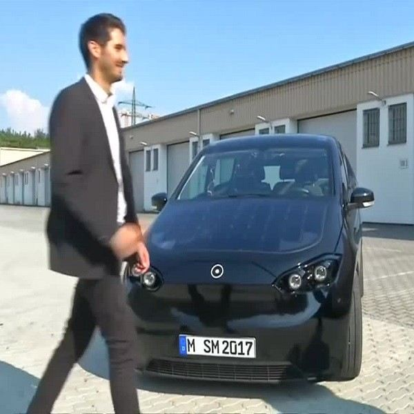 German solar electric Cars available next year Other News
