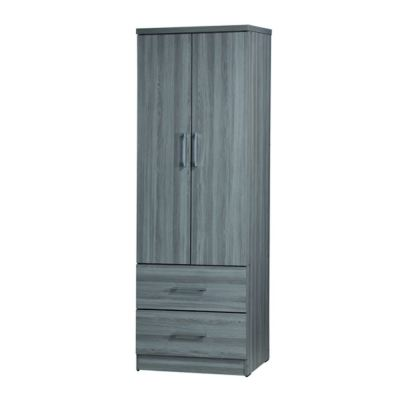 2 DOORS WARDROBE (WD SU983-GL)