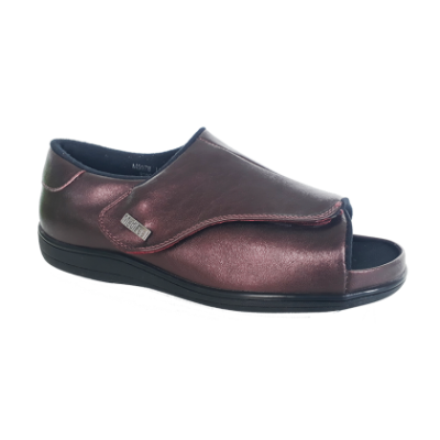 M5078 Maroon Medical Grade Footwear Pre-diabetic (RM239)