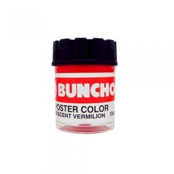 Buncho Poster Colour 15CC-Fluorescent Vermilion (F11)