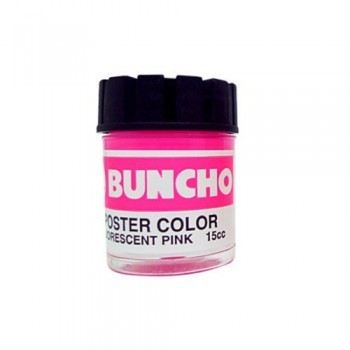 Buncho Poster Colour 15CC-Fluorescent Pink (F16)