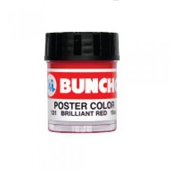 Buncho Poster Colour 15CC-Brilliant Red (131)