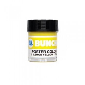Buncho Poster Colour 15CC-Lemon Yellow (2)