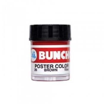Buncho Poster Colour 15CC-Brown (26)