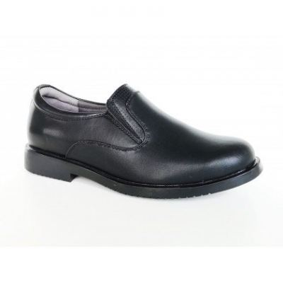 M193-6 Black Medifeet Men's Comfort Shoe