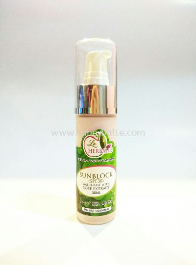 Sunblock ( SPF 30 ) - ROSE EXTRACT