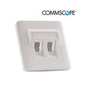Commscope Faceplate 2port Commscope ELV CABLE / ICT CABLE