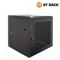 Wallmount rack 600mm(W)x500mm(D), Perspex 6U