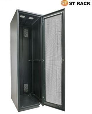STANDING RACK 600mm(W)x1000mm(D), Perspex / Perforated 42U RACK SYSTEM