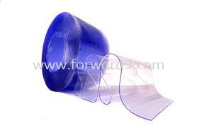 PVC Curtain Strip - Clear  Engineering Plastics Polymer ( PU / Rubber etc )