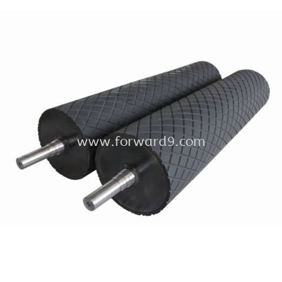 EPDM Roller Coating c/w Diamond Groove