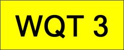 WQT3 VVIP Plate