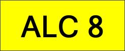 ALC8 VVIP Plate