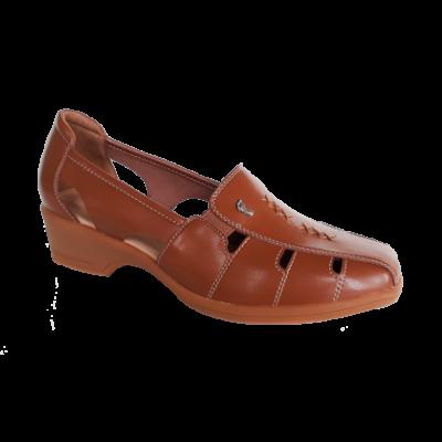 SC190-4 Brown StepCare Shoe
