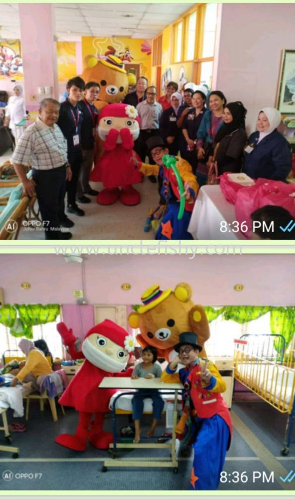 Hospital Sultanah Aminah Together with PBSM and Fanpekka