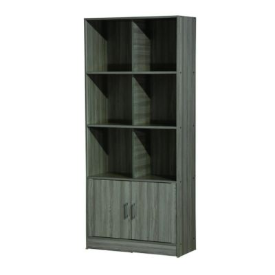 2 1/2' FILING CABINET WITH DOOR AND GLASS (FC SU833-GL)