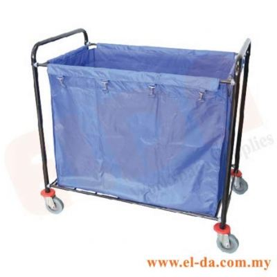 Trolley/House Keeping Equipment Epoxy Soiled Linen Trolley (ELDASLT-507/EX(GR)