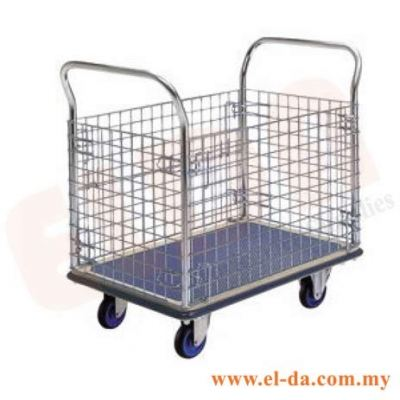 Hand Truck Double Handle With Four Side Netting (ELDAMM0307)