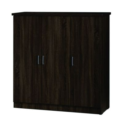 4' 3 DOORS WARDROBE (WD SU3599-SD)