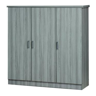 4' 3 DOORS WARDROBE (WD SU3599-GL)