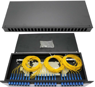 24port SC rackmount panel (without Adapter) Fiber Optic Patch Panel-Rackmount FIBER ACCESSORIES