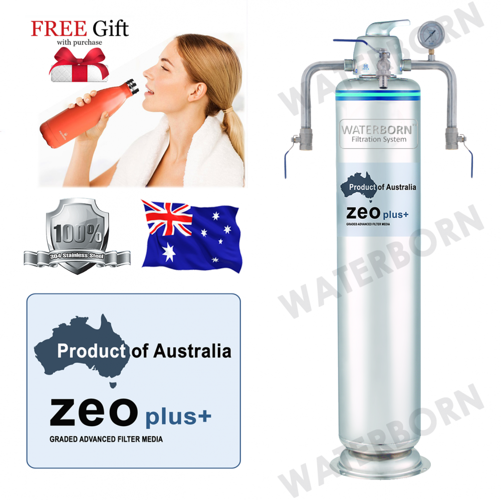 WATERBORN W-300Z Stainless Steel Master Filter Outdoor Filter with Australia Zeoplus Media Whole House System Malaysia, Selangor, Kuala Lumpur (KL), Puchong Distributor, Supplier, Supply, Supplies | Aquasana Water Filter