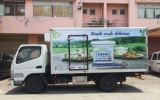 Lorry Advertising For Farmers Union 5 Tons box lorry body wrap Lorry Advertising Vehicle Advertising