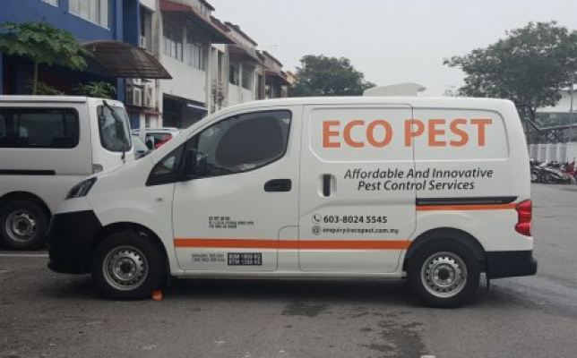 Van Advertising For Eco Pest Control