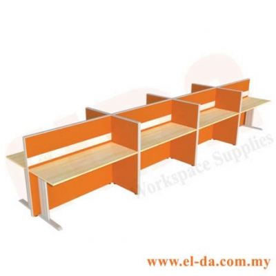 Double Table Series Cluster of 8 (ELDA-STFB-C8)