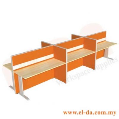 Double Table Series Cluster of 6 (ELDA-STFB-C6)