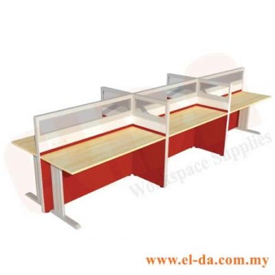 Double Table Series Cluster Of 6 (ELDA-STHG-C6)