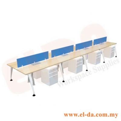 Double Table Series Cluster Of 8 (ELDA-STMC-C8)