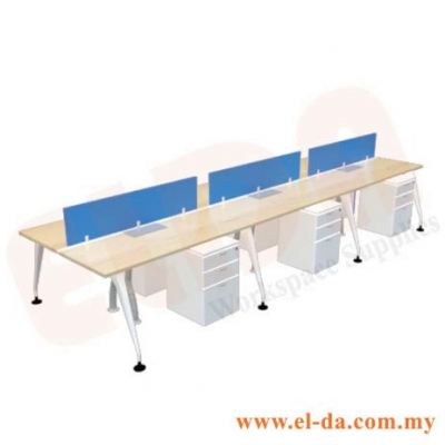 Double Table Series Cluster Of 6 (ELDA-STMC-C6)