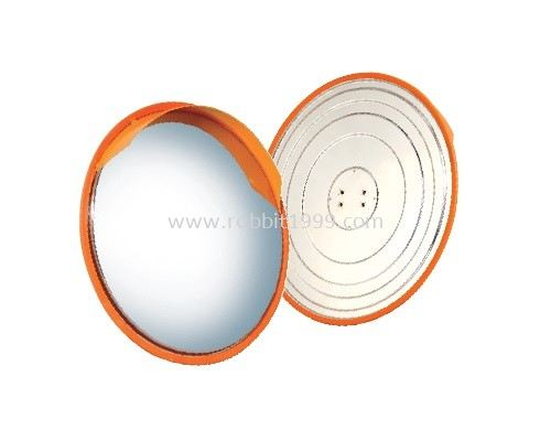 OUTDOOR STAINLESS STEEL CONVEX MIRROR 490