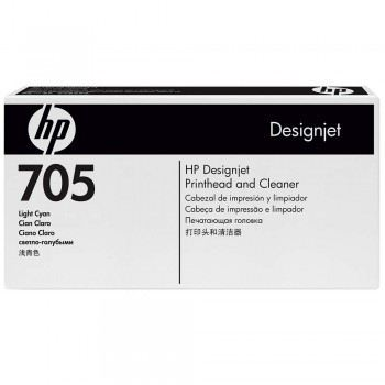 HP 705 DesignJet Printhead/Printhead Cleaner - Light Cyan (CD957A)