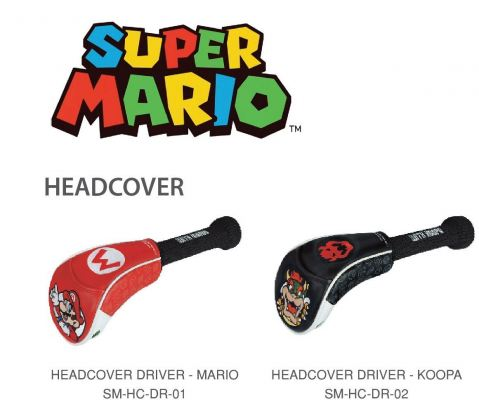Super Mario Premium Driver Covers