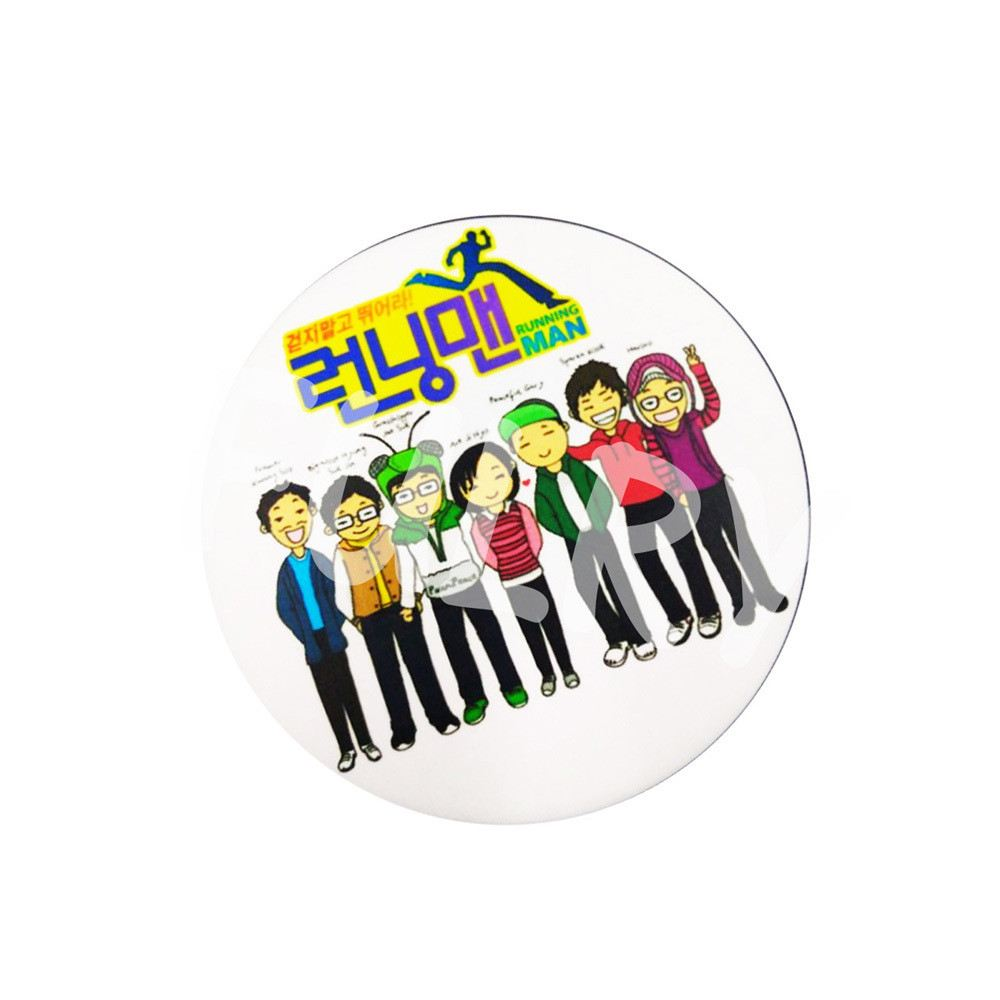 button badges with back spring material 58mm 58mm badges materials