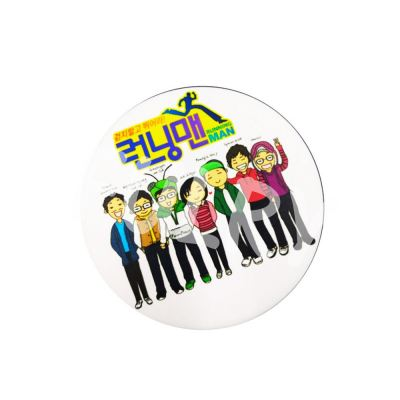 Button Badges with Back Spring Material 58mm