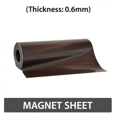 Magnet Sheet (Thickness : 0.6mm & 1.0mm)